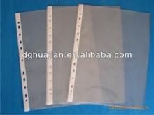 Clear file pocket,sheet protector,inner sheet