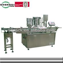 Shengqi usine prix de l'huile de colza de remplissage et Machine de capsulage