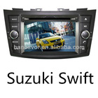 Suzuki Swift Car DVD GPS Navigation System built in radio audio bluetooth