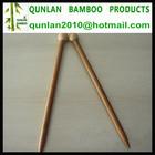 Single Pointed Bamboo Hand Knitting Needles