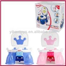 Baby toilet, baby water closet, music sensor baby toilet