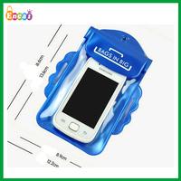 Encai Fashion Summer Mobile Phone PVC Waterproof Bag With Arm Belt/Transparent PVC Neck Pouch For Cellphone