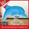 High quality the eva lamp,Dolphin animal table lights T1116