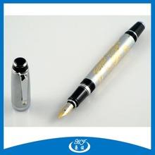 Delux Design Emboss Gift Metal Fountain Pen For New 2014