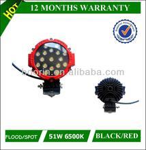 high lumen and waterproof 12v 24v 6000k auto led light work