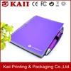 OEM customizedraw pocket notebook with pen holder manufacturer in shenzhen china