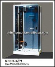 blue film shower cabin shower room foot massage