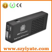 Android 4.2 MINI PC MK808B DUAL CORE RK3066 ARM Corte-A9 TV BOX