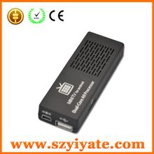 Bluetooth Version MK808B Android 4.1 Dual Core Cortex A9 RK3066 1.6GHz 1G/8G WIFI HDMI USB Google Smart IPTV Board Stick TV Box