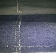 """5 oz, 58/60"""", cotton spandex, indigo blue denim fabric"""