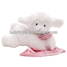 2014 hot gift items for new born baby baby soft toy blanket