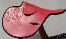 Horse Synthetic Racing Saddle Leather All Sizes Available 1