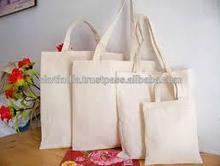 plain cotton tote bag