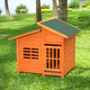 Deluxe Wooden Dog Cages