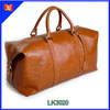 Genuine Leather Duffle Travel Bag leather traveling bags for sale