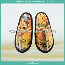 cute standard yangzhou disposable hotel slippers kids