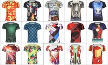 digital printing tattoo lycra cotton plain white v-neck t shirts