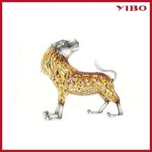 "9.6"" metal lion decoration home furnish & decorate"