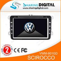 Sharing Digital VWM-801GD Scirocco central multimidia