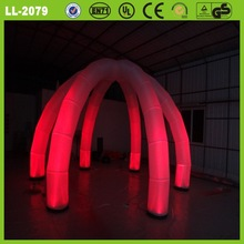 portable outdoor decoration led inflatable arch