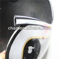 soft flexible u type decorative strip fpr helmet