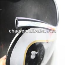 soft flexible u type decorative strip fpr helmet