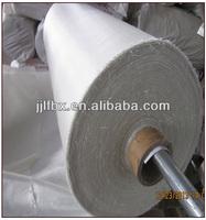 160g white color fireproof insulation non-alkali fibreglass cloth