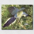 realistis pittura foto stampata su tela piccolo falco selvatico