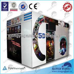 Oversea hot sale 5d 7d 9d simulator cinema equipment