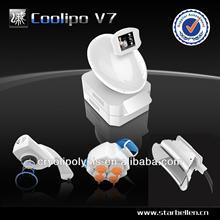COOLIPO V7 New cavitation effective cryolipolysis electronic muscle stimulation slimming machine