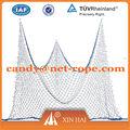 Nylon& poliéster rede de pesca para a decoração/nylon multifilamento pesca net