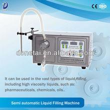 Small Volume Liquid Cigarette Filler/Semi-auto Small Volume Magnetic Pump Liquid Filling Machine