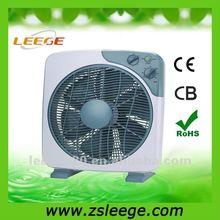 Home Appliances 2014 new model elegant design long lifetime hot sell 16 inch Box fan