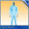 Estéril desechable pp/pp + pe/sms/monos de ropa de trabajo