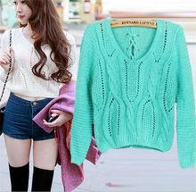 New design girl crop top 100% cotton sweater factory manufacturer
