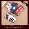OEM & ODM Painted striae phone case for iphone 5/5s National flag case