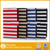 Strip leather case for Samsung i9600 S5, For Samsung galaxy S5 leather case