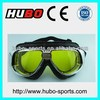 China factory ABS frame PU leather riding goggles for motocorss racing