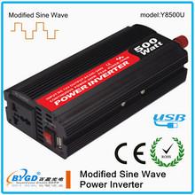 DC-AC 500w modified sine wave power inverter 12v to 240v