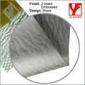Js nuevo producto 31*43''silver papel de envoltura de papel