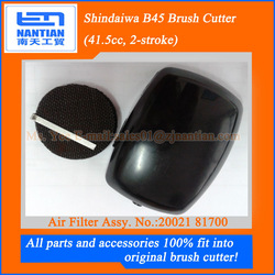 Air filter assy.: Shindaiwas B45 41.5cc brush cutter spare parts and accessories