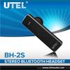 New 2014 electronics headphone BH-2S noise reduction fashion bluetooth headset