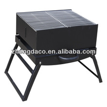 Korean foldable garden charcoal BBQ table