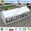 10x20 waterproof fabric aluminium structural tents house tent for sale