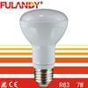 China R63 Aluminum AC85-265V ac dc 24V 12V led light 120V led bulb