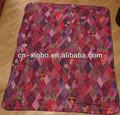 Polar cobertor de lã olímpico cores violeta lembrança Sochi 2014 jogos olímpicos