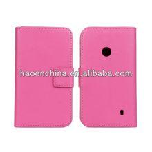 custom cover case for nokia lumia 520, wallet leather case cover for Nokia Lumia 520