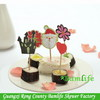 Quality custom-made flag bamboo knotted skewer