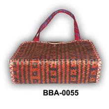 handicraft handmade bamboo bag with handle- Hot selling items( skype: hanna.etop)