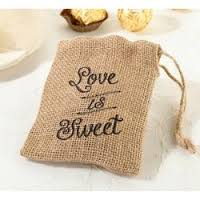 coustom made jute pouch with soap bag